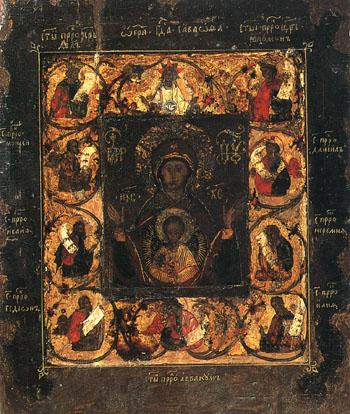 Курская-Коренная икона Божией Матери без оклада