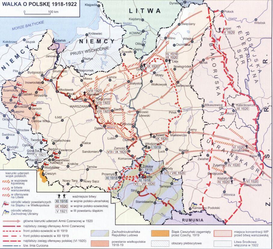 В годы первой мировой войны 1918 1922 гг